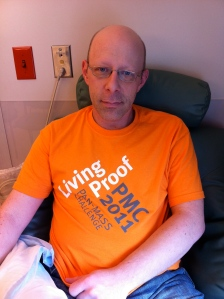 September 27, 2011 - Final chemo treatment. Living Proof again!