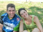 Teammate Brian and his wife/Pie Stop Lady Kathi!