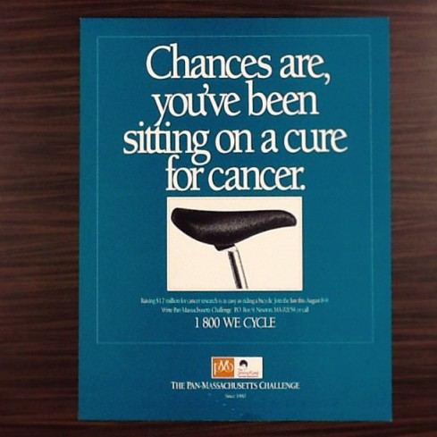 Chances are, you've been sitting on a cure for cancer