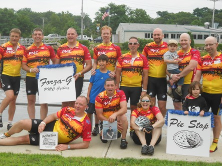 Celebrating Pie, Riding, and Beating Cancer
