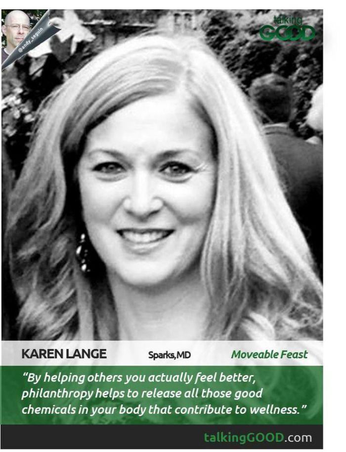 Talking GOOD with Karen Lange