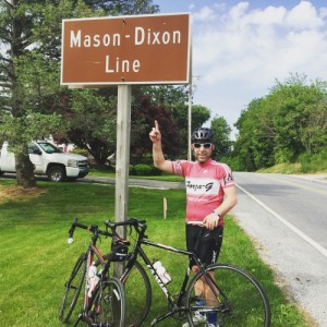 Another training ride across state lines